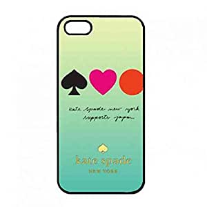Hot sale Phone funda for Iphone 5(S),Fashion brand Kate Spade series back funda Cover,Kate Spade logo Iphone 5(S) Phone funda