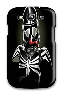 For Galaxy Case, High Quality Star Wars Minimalistic Stormtroopers Venom Spider-man Marvel Comics For Galaxy S3 Cover Cases