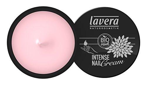 lavera Intense Nail Cream Nagelcreme - Pflegt spröde Nagelhaut - Für schöne Fingernägel mit fünf Bio Ölen Make up 3er Pack (3 x 15 ml)