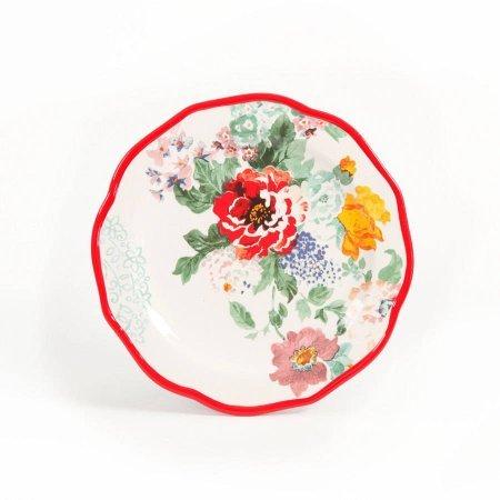 (Decorated Salad Plates 8.5