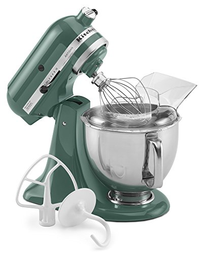 Kitchenaid ksm150psbl 5 qt artisan series stand mixer buy online in uae kitchen products - Kitchenaid mixer bayleaf ...