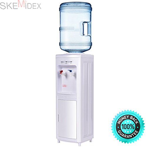 SKEMiDEX---Water Cooler Dispenser 5 Gallon Hot Bottle Load Electric Primo Home New. ideal for work, home or other places where you find a water dispenser to be convenient by SKEMiDEX