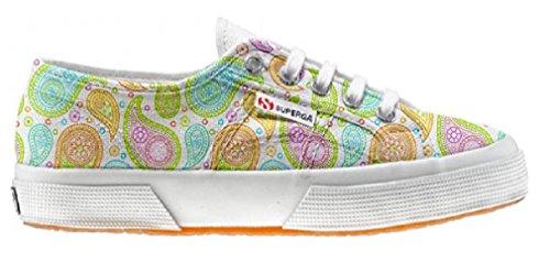Superga Customized zapatos personalizados Colorful Paisley (Producto Artesano)