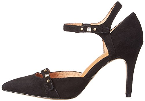 Strap D Park Toe Slope Black Pumps Womens Corso Ankle orsay Como Leather Pointed WzCw8EE1qx