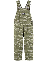 Toddler Boy Camo Lined Overalls