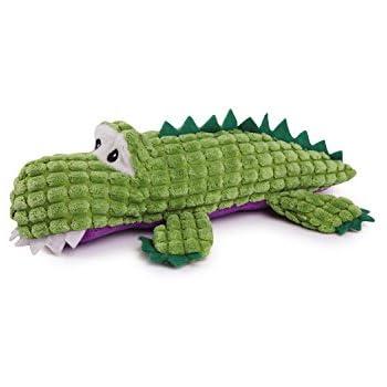 Amazon.com : Zanies Corduroy Crocodile Dog Toys, Small