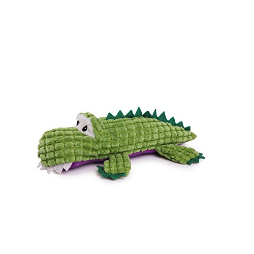 picture Zanies Corduroy Crocodile Dog Toys, Small