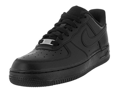 Nike Damen Wmns Air Force 1 07 Turnschuhe Schwarz (Black Black 038)