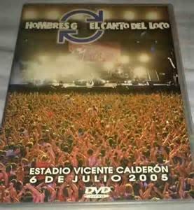 Hombres G El Canto Del Loco: Estadio VIcente Calderon 2005 BASICO: Amazon.es: El Canto Del Loco Hombres G: Cine y Series TV