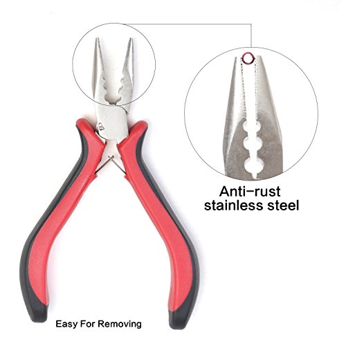 Neitsi Professional Linkies Microring Opener Tool for Hair Extension Removal ()