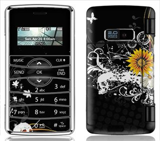 (Sunflower Ink Skin for LG enV2 enV 2 Phone)