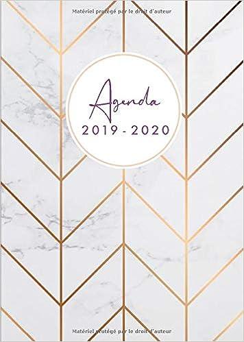 Agenda 2019-20: Agenda 18 mois journalier 2019-20 - format ...