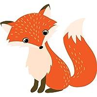 Adorable Cute Nursery Cartoon Forest Animal Critter Vinyl Decal Sticker