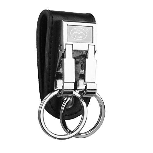 (Belt Buckle Clip 2 Loops Keychain Key Ring Holder )
