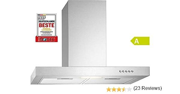 Bomann DU 7600 IX - Campana extractora (60 cm, acero inoxidable): Amazon.es: Grandes electrodomésticos