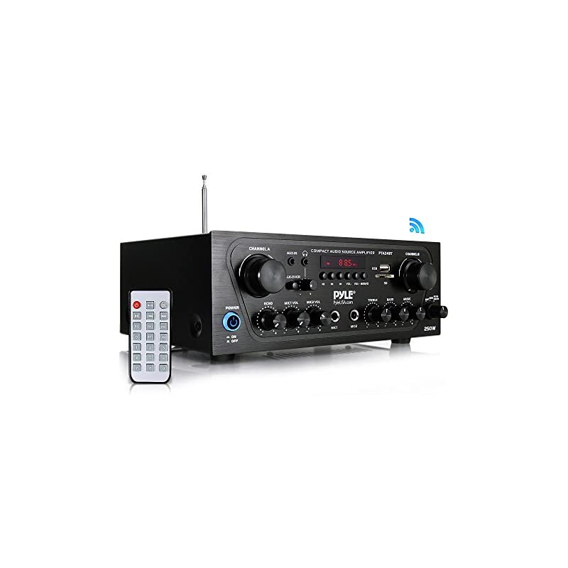 Pyle Upgraded Karaoke Bluetooth Channel