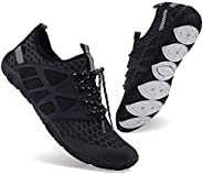 Bling Bo Men Women Water Sports Shoes Slip-on Quick Dry Aqua Swim Shoes for Pool Beach Surf Walking Water Park