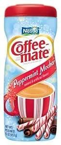 Nestle Coffeemate Peppermint Mocha Coffee Creamer 15 oz (Pack of 6)