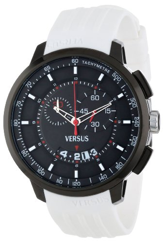 Versus-by-Versace-Mens-SGV050013-Manhattan-Black-Ion-Plated-Stainless-Steel-Watch-with-White-Rubber-Band