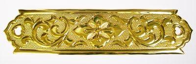 伊勢 - 宮忠 - 階段金具 電鋳製 5寸×2尺
