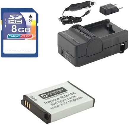 KSD48GB Memory Card Samsung WB1100F Digital Camera Accessory Kit includes SDM-1501 Charger SDSLB10A Battery