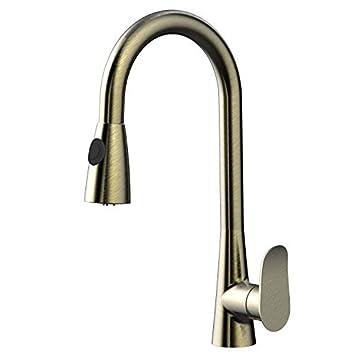 awa - sherlock - rubinetto miscelatore da cucina con doccetta ... - Miscelatore Da Cucina