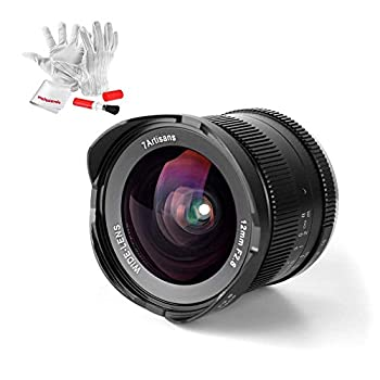Image of 7artisans 12mm F2.8 APS-C Ultra Wide Angle Lens for Canon EOS M EF-M Mount Mirrorless Camera M1 M2 M3 M5 M6 M10 - Manual Focus Prime Fixed Lens Mirrorless Camera Lenses