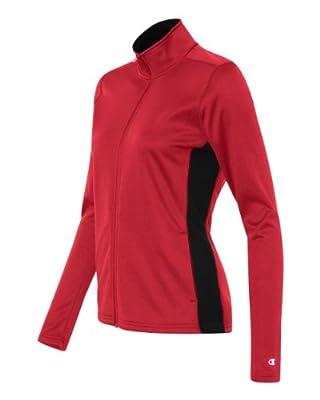 Champion - Women's Colorblocked Performance Full-Zip Sweatshirt - S260