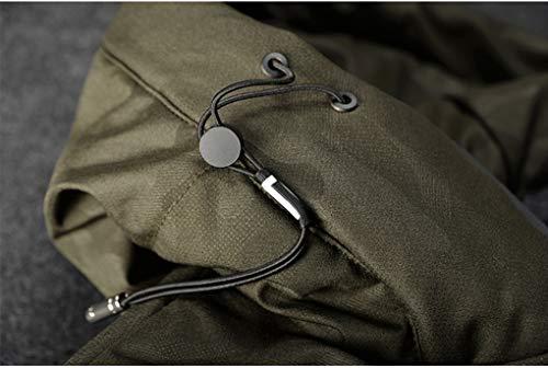 Cappotto Fashions XxlGreen Uomo Abbigliamento Srl Piumino Parka66coloreGrayDimensioni Giacche Streetwear Invernali Lungo 0XP8nwkO