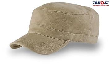 TANK KAKI BERRETTO MILITARE VASCO CAP CHAPEAUX 100% COTONE UNISEX   Amazon.it  Sport e tempo libero 9f8de7857702