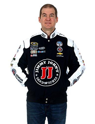 Kevin Harvick Jimmy John's NASCAR Jacket (Large) (For A Sponsor Pet Christmas)