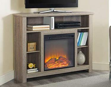 Amazon Com Tv Stand With Fireplace Space Heaters For Indoor Use