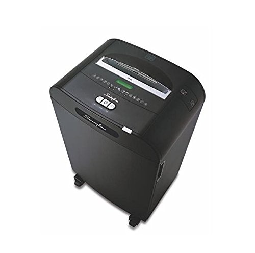 Swingline Paper Shredder, Jam Free, 18 Sheet Capacity, Cross-Cut, 5-10 Users, DX18-13 (1758585) by Swingline