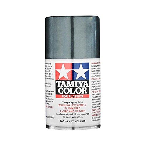 Spray Lacquer TS-100 Bright Gun Metal - 100ml Spray Can 8510
