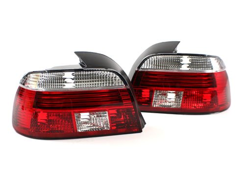 97-00 BMW E39 5-SERIES EURO FACELIFT CELIS STYLE TAILLIGHTS - CRYSTAL (E39 Face Lift)