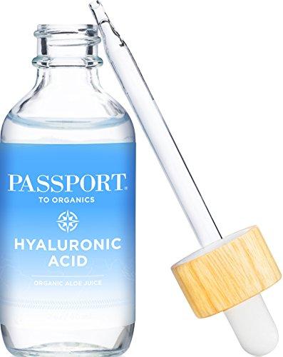 Hyaluronic Acid Serum - Organic and Vegan - 100 Percent Pure...
