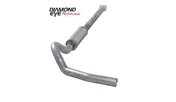 """4/"""" DownPipe Back Exhaust System 01-07 Chevy//GMC GM Duramax 6.6L V8 Turbo Diesel"""