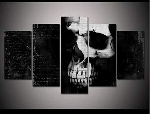 HNFSSK Horror Extraño Cráneo Halloween Decoración para El