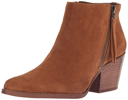 Sam Edelman Women's Walden Ankle Boot, Luggage Suede, 7 M US