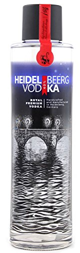 HD Spirits (UG) Heidelbeerg Royal Premium Vodka Wodka (1 x 0.7 l)