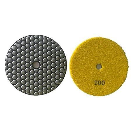 Trockenpolierkissen aus Diamantharzbindungen fü r Steinbeton 5' (Grit 100#) NTS