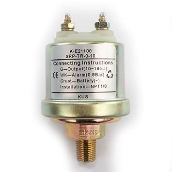 Kus Sensor de presión para agua/Indicador de presión de ...