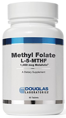 Douglas Laboratories - Methyl Folate (L-5-MTHF) - 1,000 mcg Metafolin Identical to the Naturally Occurring Form of Folate to Support Overall Health* - 60 Tablets