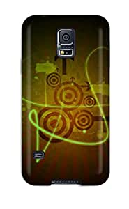Snap-on Retro Case Cover Skin Compatible With Galaxy S5