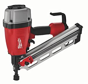 Milwaukee 7110-20 2- to 3-1/2-Inch Clipped Head Framing Nailer