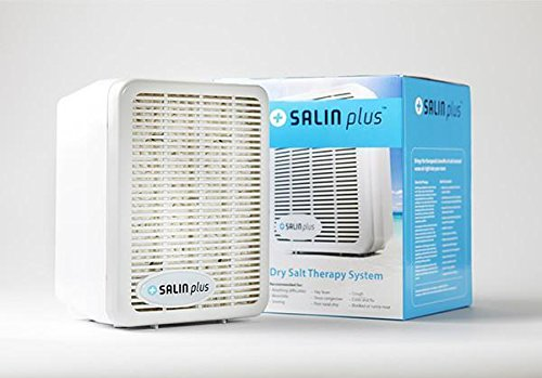 Salin Plus - Natural Salt Therapy Air Filter and Purifier - Helps with Snoring, Asthma, Allergies, and More by Salin PLus (Image #1)