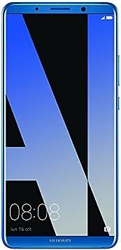 Huawei Mate 10 Pro - Smartphone (Octa-Core Cortex a73 2.36 GHz, Memoria Interna de 6, 128 GB RAM), Color Azul Medianoche: Amazon.es: Electrónica