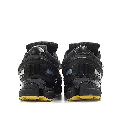Adidas Heren Raf Simons Ozweego Iii Zwart Leer Cblack / Clback / Coryel