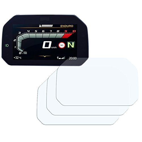 Speedo Angels Dashboard Screen Protector for R 1250 GS (2018+) - 3 x Anti Glare