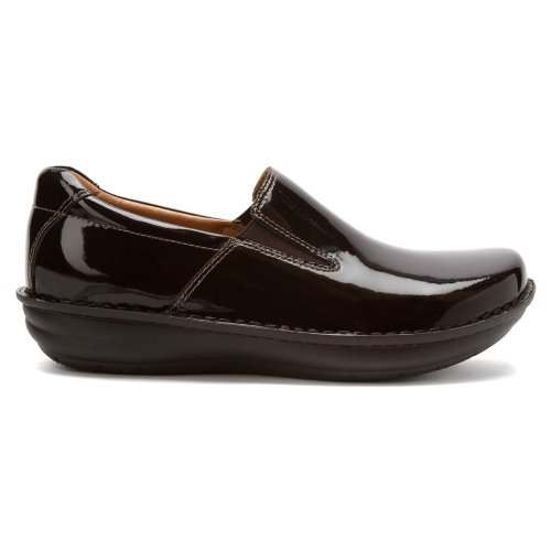 Alegria Men's Choco Waxed Tumbled Clog Shoe Choco Patent wholesale online perfect online q10b3